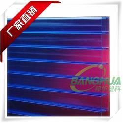 安徽阳光板|邦华塑料|阳光板雨棚图片