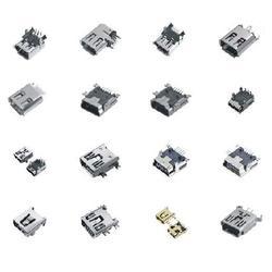USB插座-B型USB插座-隆运电子各国销量领先图片
