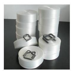 柔性纤维打包带、广州越狮(在线咨询)、肇庆纤维打包带图片
