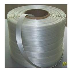 聚酯纤维打包带定做_广州越狮(在线咨询)_中山纤维打包带图片