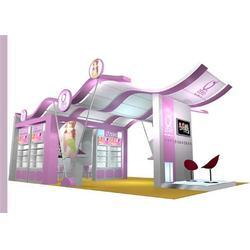 南林装饰-广州美博会展台搭建公司-广州美博会展位装修图片