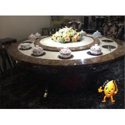 青海大理石餐桌,人造大理石餐桌,伊派餐饮设备图片