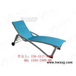 特斯林穿布躺椅休闲躺椅户外躺椅图片