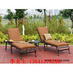 铸铝藤椅,休闲躺椅,庭院别墅用休闲躺椅图片