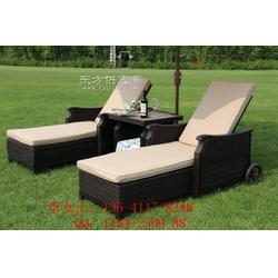 别墅庭院用躺椅,藤编躺椅,户外躺椅图片