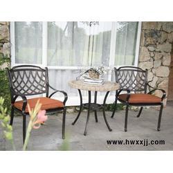 铸铝桌椅组合,庭院阳台桌椅组合,户外桌椅图片