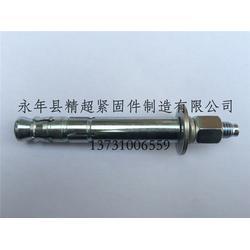 地铁用高强度热镀锌后切式锚栓|精超紧固件|后切式锚栓图片