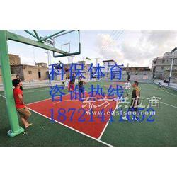 承接塑胶篮球场施工图片