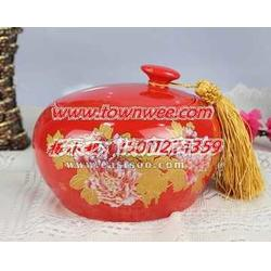 陶瓷定做 高档茶叶罐 陶瓷茶叶罐 青花瓷茶叶罐厂图片