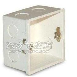 面板底盒86型墙壁开关插座暗装PVC接线盒双底盒图片
