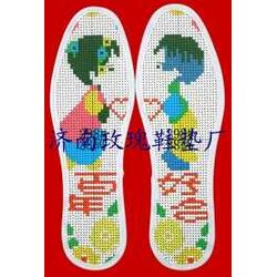 十字绣鞋垫怎么绣图片