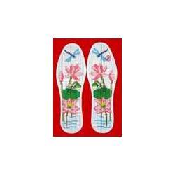 鞋垫花样图案大全十字绣手工厂家市场代理厂鞋垫图片