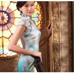 定做旗袍要多長時間_周口定做旗袍_曹華旗袍圖片