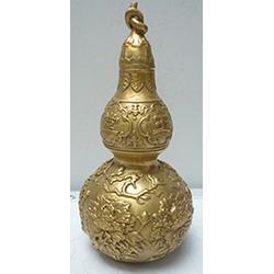铜葫芦摆件、欣宝工艺、罗湖铜葫芦图片