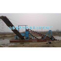挖沙机械-海天机械-绞龙式挖沙机械图片