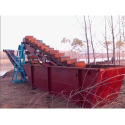 挖沙船试机成功|海天机械(在线咨询)|泉州挖沙船图片
