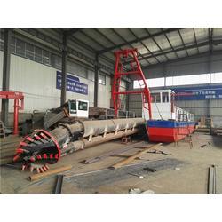 抽沙船供应商-海天机械(在线咨询)晋城抽沙船图片