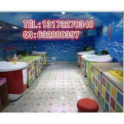 高端宝宝水育中心专用多功能卡通婴儿游泳池图片