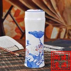 陶瓷真空保温杯图片