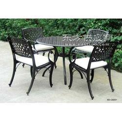 供应兴宜达户外家具铸铝桌椅图片