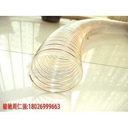 PU透明钢丝伸缩管图片