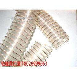 进口pu钢丝波纹伸缩管耐热PU钢丝波纹管图片