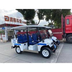 电动巡逻怎么一样呢车 4轮巡逻电�K动车图片