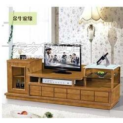 优质全实木电视柜 伸缩地柜电视柜图片