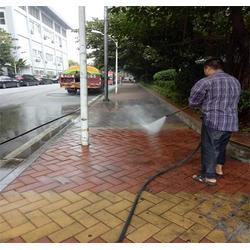 广州番禺区清洗路面泥土|专业清洗市政马路污垢|清洗路面图片