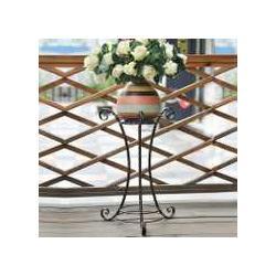 铁艺花架做旧铁艺花架图片