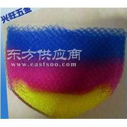 40cm纯手工彩色钓鱼线抄网头图片