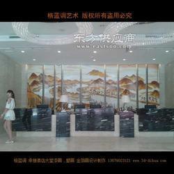 酒店壁画 酒店墙体彩绘 酒店墙绘图片