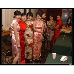 天津市旗袍,真丝旗袍,金梦羽服装厂图片