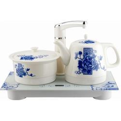 陶瓷电热水壶套装茶具玻璃壶,陶瓷电热水壶,中陶电器图片