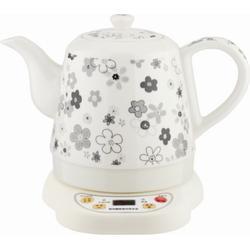 陶瓷电热水壶,时尚陶瓷电热水壶,中陶电器图片