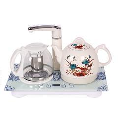 陶瓷电热水壶 阿里巴巴陶瓷电热水壶 中陶电器图片