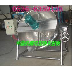 电加热夹层锅使用方法|杭州电加热夹层锅|诸城华昌机械图片