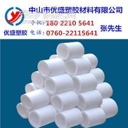 进口白色PTFE管材 耐高温聚四氟乙烯管 耐磨铁氟龙管图片