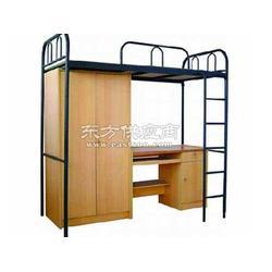 铁床公寓床/公寓床供应/铁架床厂商/钢制单人床图片