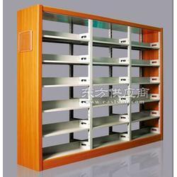 钢制双面书架厂家,钢制木侧双面书架,钢制双面书架图片