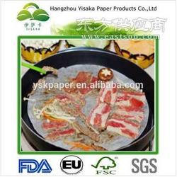伊萨卡厂家直销生物可降解防油耐高温烧烤纸图片
