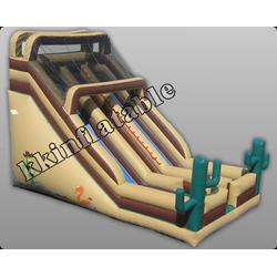 拉萨充气滑梯-质量保证冲气滑梯-佳凯气模图片
