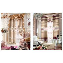 摩尔登欧式卧室窗帘品牌可定做高档奢华大气客厅窗帘图片