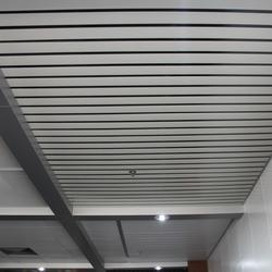 木纹铝条扣生产厂家-铝条扣-欧品铝业图片