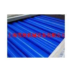 耐磨浇铸兰色尼龙棒-蓝色MC901塑料棒图片
