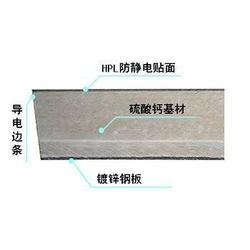 复合防静电地板品牌 皇杰机房 复合防静电地板图片