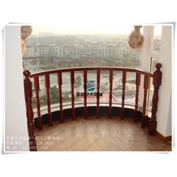 武汉亚誉艺术楼梯_弧形楼梯扶手定制_阳逻楼梯扶手定制图片
