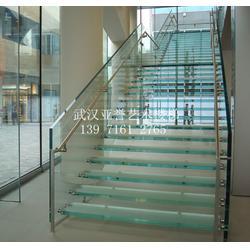 单梁玻璃楼梯_武昌玻璃楼梯_武汉亚誉艺术楼梯图片
