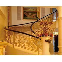 铁艺楼梯围栏,顺道街铁艺楼梯,武汉亚誉艺术楼梯图片