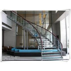 钢木楼梯保养|客厅钢木楼梯|汉西钢木楼梯图片
